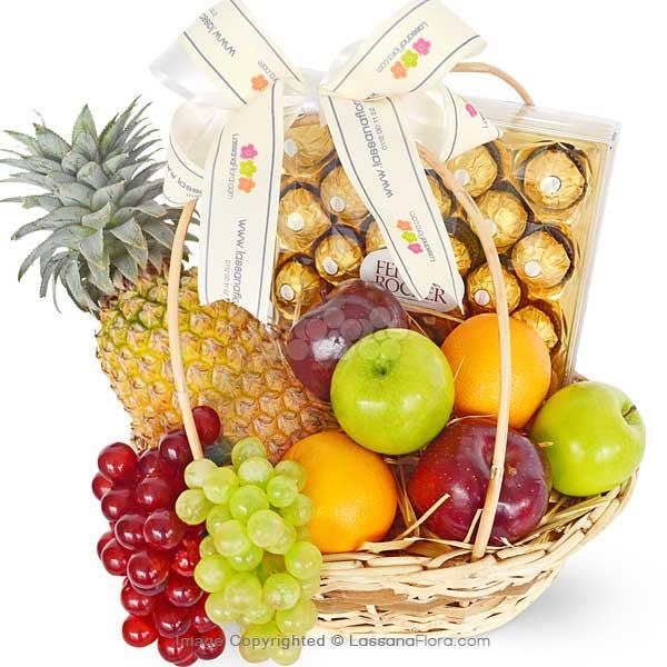 MIX FRUIT CHOCÓ LOVER 2 - Fruit Basket - in Sri Lanka
