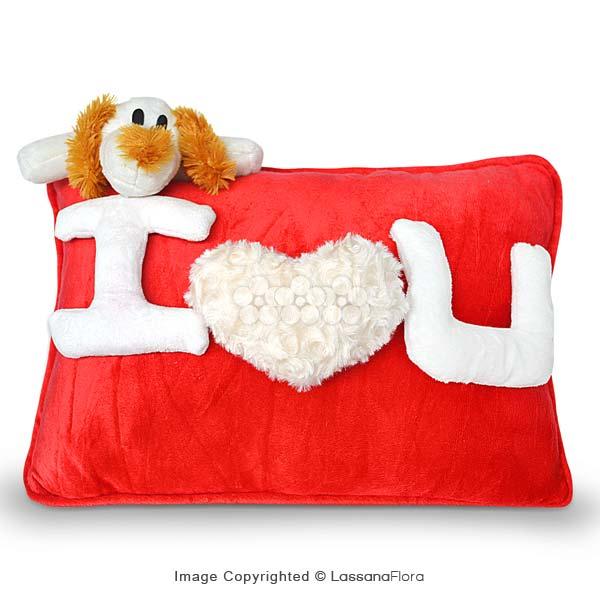I LOVE YOU PILLOW - Cushions & Pillows - in Sri Lanka