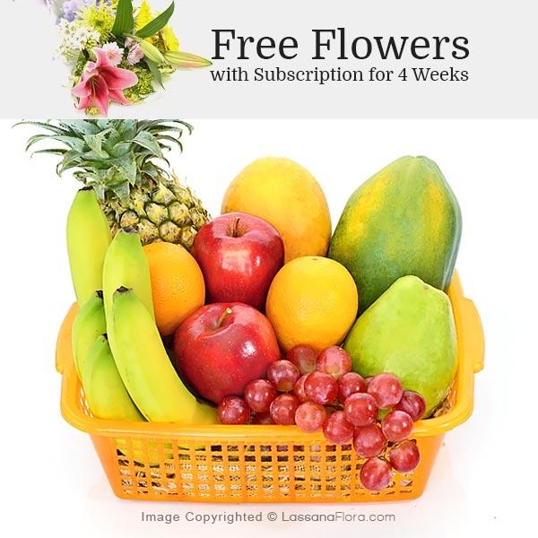 HOME FRUIT BASKET -02 - Vegetables & Fruits - in Sri Lanka