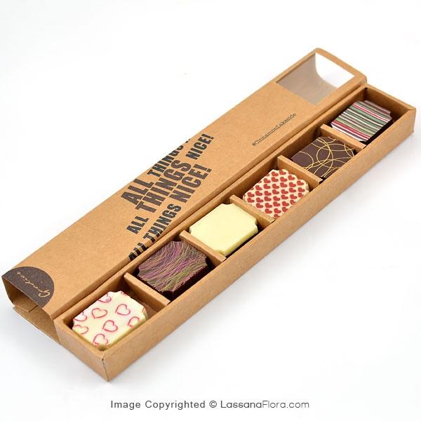 GOODIES 6 PCS CHOCOLATE BOX (CINNAMON LAKESIDE) - Gift Packs - in Sri Lanka