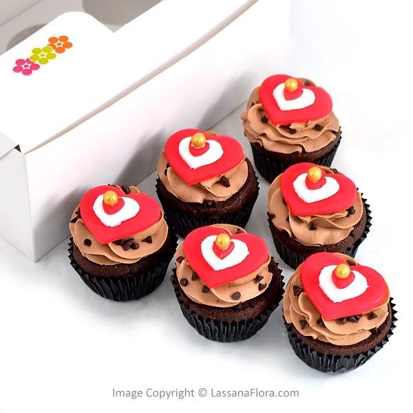 SWEETCHOCO CUPCAKE (06 NOS) - Lassana Cakes - in Sri Lanka