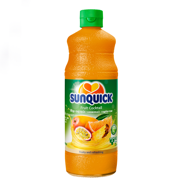 SUNQUICK FRUIT COCKTAIL 840ML - Beverages - in Sri Lanka