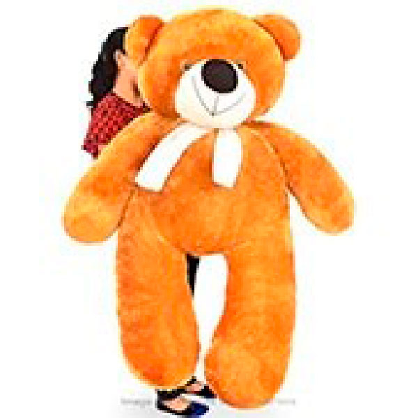 LIFE SIZE TEDDY (BROWN) - 5 FT - Soft Toys - in Sri Lanka