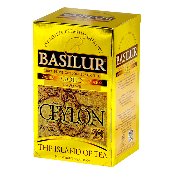 ISLAND OF TEA-TEA BAG-GOLD-2gX20ENX12 - Beverages - in Sri Lanka