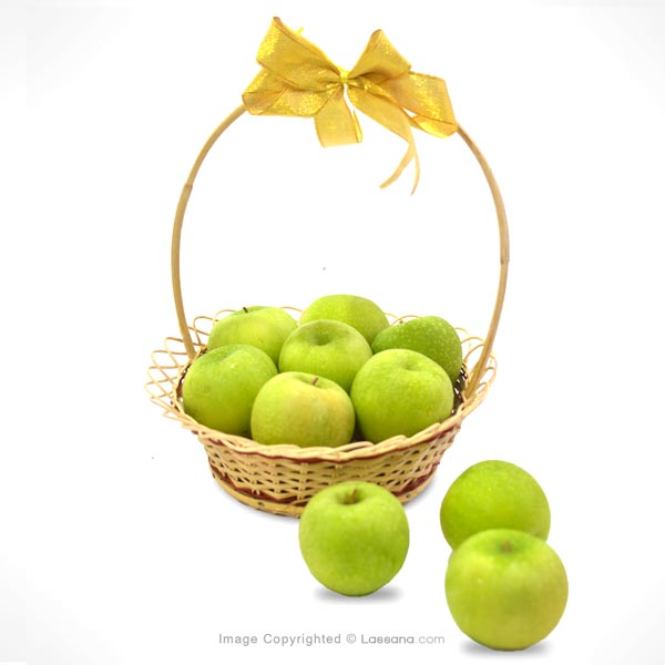 SEASONAL GREEN APPLE LOVER BASKET - Fruit Basket - in Sri Lanka