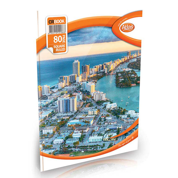 Atlas Book CR Single Rule 80 Pages - Stationery - in Sri Lanka