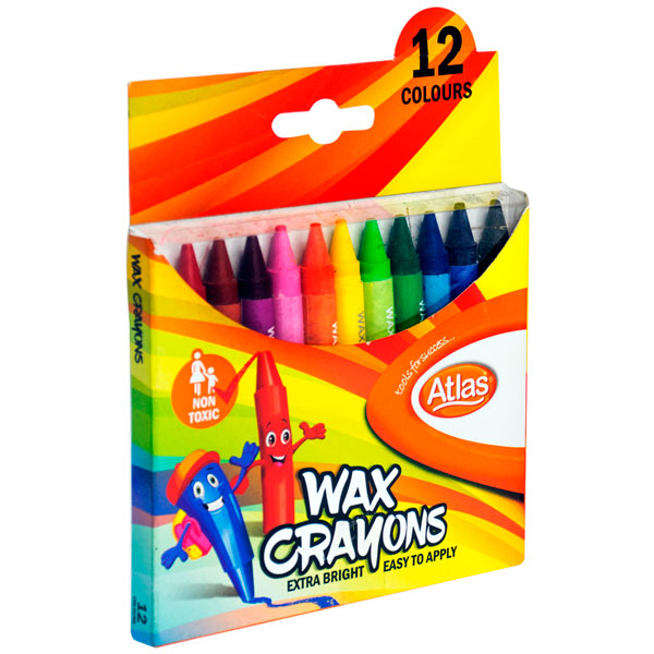 ATLAS CRAYON 12 COLORS - Stationery - in Sri Lanka