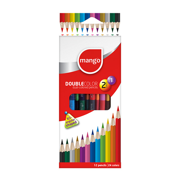 RATHNA DOUBLE - COLOR PENCILS 24 COLORS PACK - Stationery - in Sri Lanka