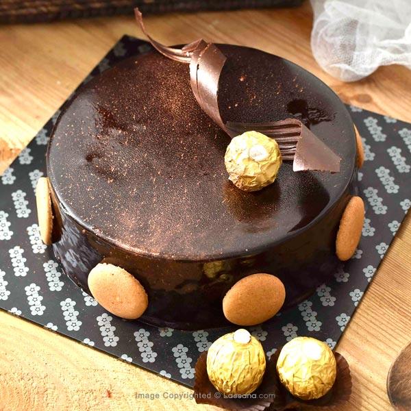 BLUEBERRY CHOCOLATE MOUSSE  - 1Kg(2.2 lbs) - Lassana Cakes - in Sri Lanka