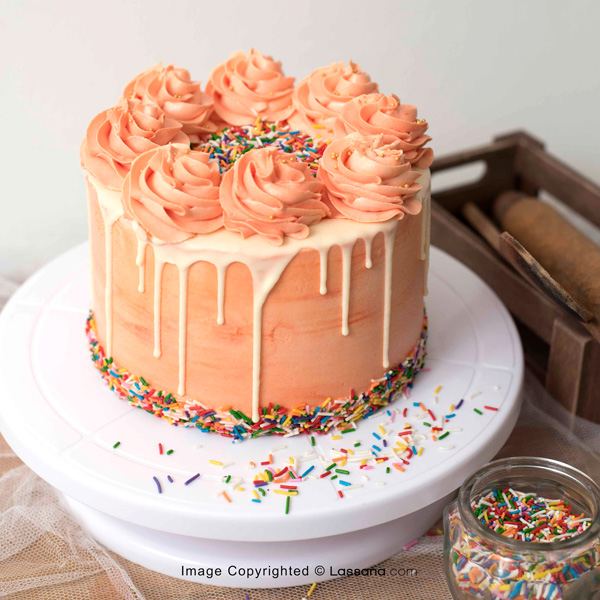 PEACH PASSION -1kg(2.2lbs) - Lassana Cakes - in Sri Lanka