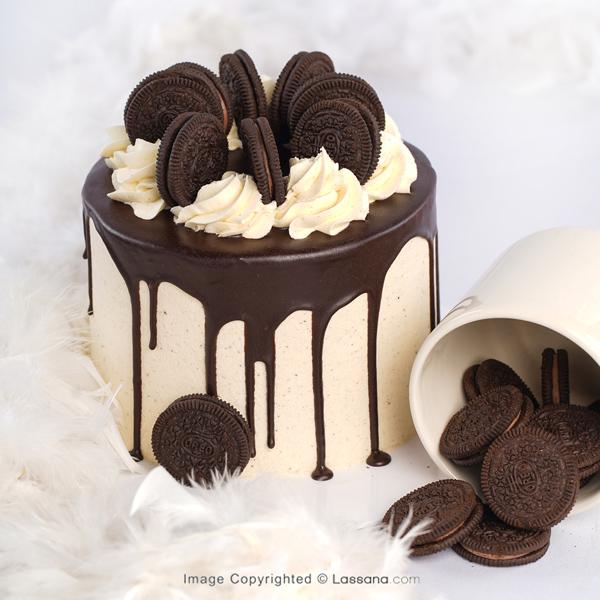 OREO SUPREME CAKE  - 1.3Kg( 2.86lbs ) - Lassana Cakes - in Sri Lanka