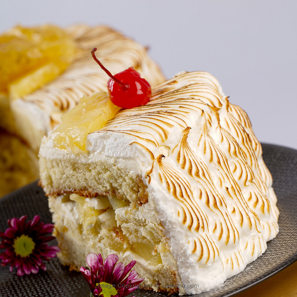 PINEAPPLE MERINGUE CAKE 1.5kg (3.3lbs) - Lassana Cakes - in Sri Lanka