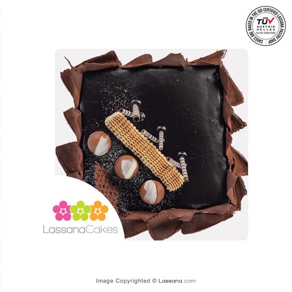 BELGIAN GANACHE CAKE 1KG (2.2LBS) - Lassana Cakes - in Sri Lanka
