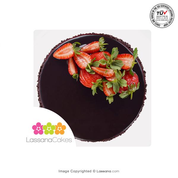 LASSANA STRAWBERRY DELIGHT CAKE - 1Kg (2.2 llbs) - Lassana Cakes - in Sri Lanka
