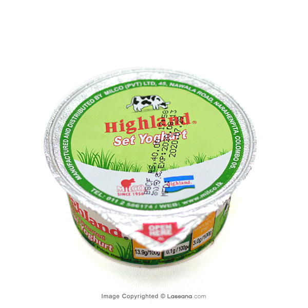HIGHLAND YOGHURT - 90g - Grocery - in Sri Lanka