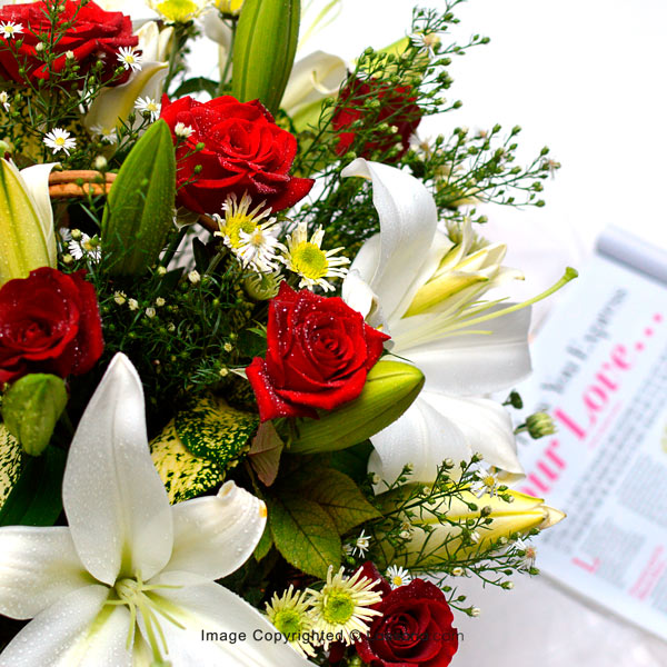 WINTER BLOOMS - Congratulations - in Sri Lanka