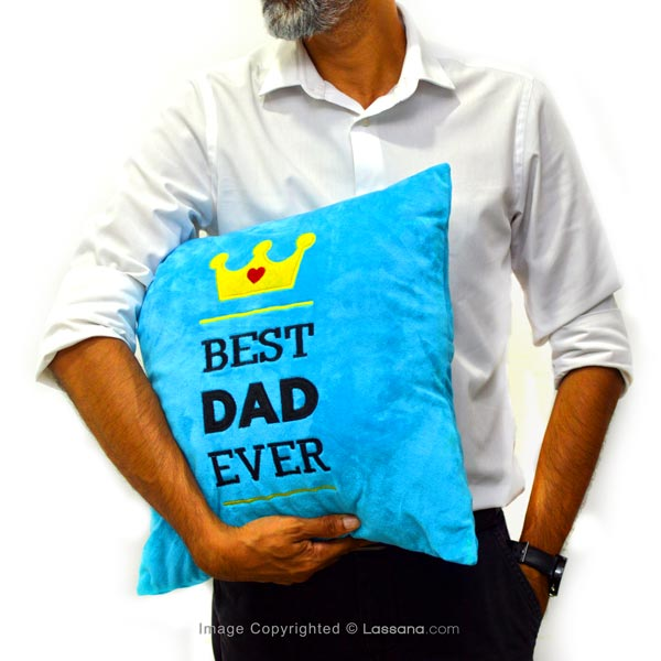 BEST DAD EVER CUSHION - Cushions & Pillows - in Sri Lanka