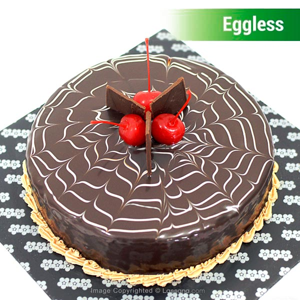 EGGLESS CHOCOLATE CAKE - 1KG (2.2 lbs) - Lassana Cakes - in Sri Lanka