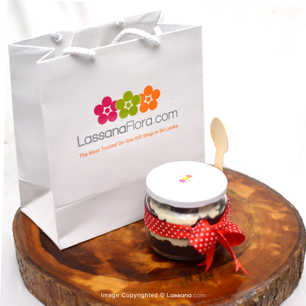 COOKIE & CREAM IN A JAR - Lassana Cakes - in Sri Lanka