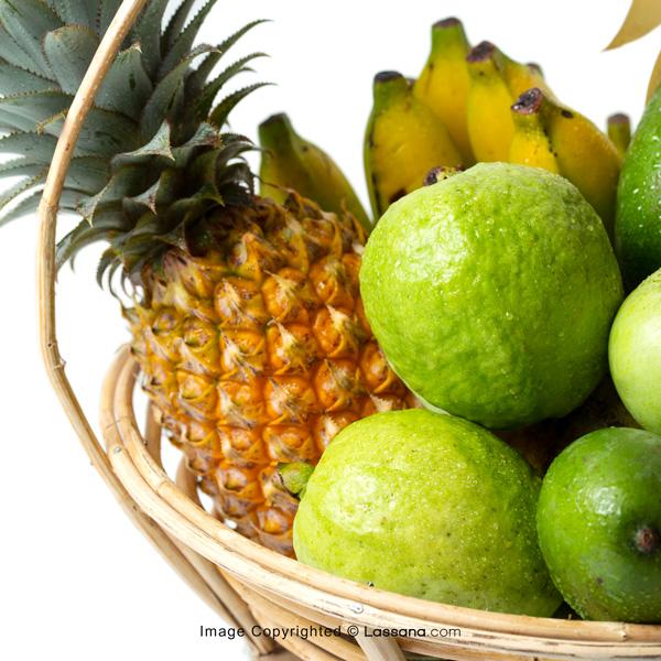 FARM DELIGHT (With Flower Bunch) - Fruit Baskets - in Sri Lanka