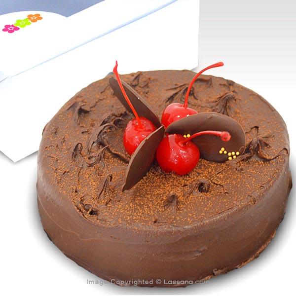 Lassana Chocolate Mud Cake 500g (1.1 lbs) - Lassana Cakes - in Sri Lanka