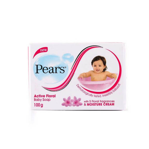 PEARS SOAP FLORAL 100G - Baby Care - in Sri Lanka