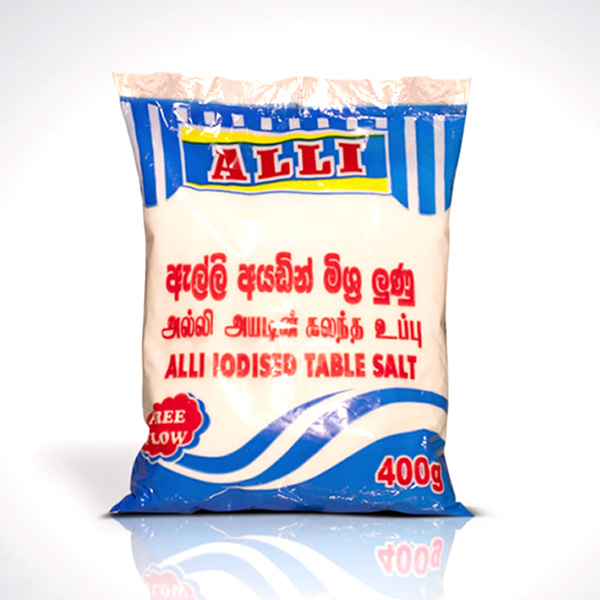 ALLI TABLE SALT 400G - Grocery - in Sri Lanka