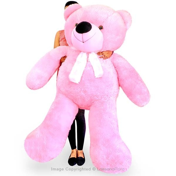 LIFE SIZE TEDDY (PINK) - 5 FT - Soft Toys - in Sri Lanka