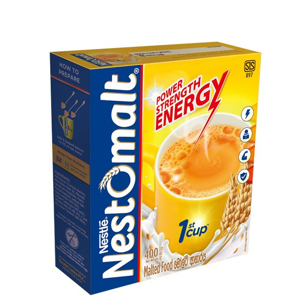 Nestle Nestomalt Bag in Box - 400g - Beverages - in Sri Lanka