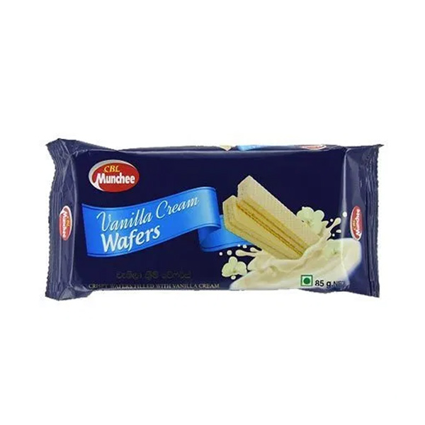 CREAM WAFER (VANILLA) - 85G - Snacks & Confectionery - in Sri Lanka