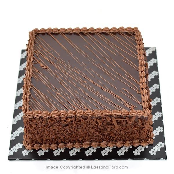 DARK HEAVEN FUDGE CAKE 500g (1.1 lbs) - Lassana Cakes - in Sri Lanka