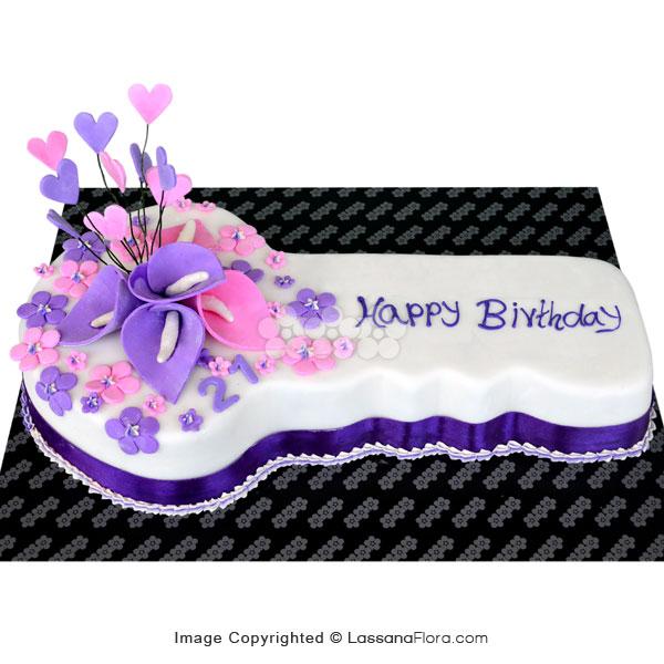 KEY BIRTHDAY CAKE 1.7Kg (3.7 lbs) - Lassana Cakes - in Sri Lanka