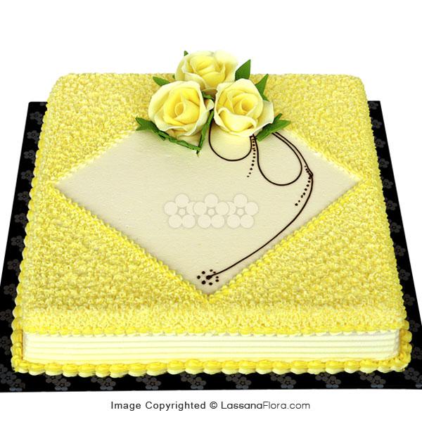 RIBBON CAKE 1Kg (2.2 lbs) - Lassana Cakes - in Sri Lanka