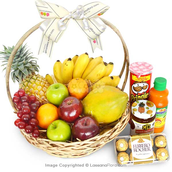 GOODIES SENSATION - Fruit Basket - in Sri Lanka