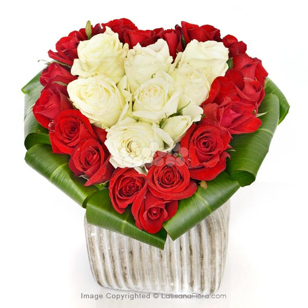 ROMANTIC ROSE HEART - Love & Romance - in Sri Lanka