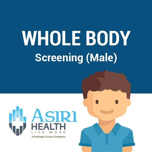 WHOLE BODY SCREENING (MALE) - Health - in Sri Lanka