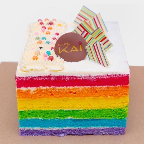 HILTON RAINBOW CAKE - 1KG (2.2 lbs) - Hilton - in Sri Lanka