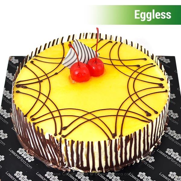 EGGLESS VANILLA CAKE - 1KG (2.2 lbs) - Lassana Cakes - in Sri Lanka