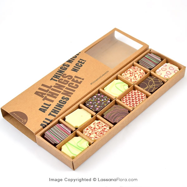 GOODIES 12 PCS CHOCOLATE BOX (CINNAMON LAKESIDE) - Gift Packs - in Sri Lanka