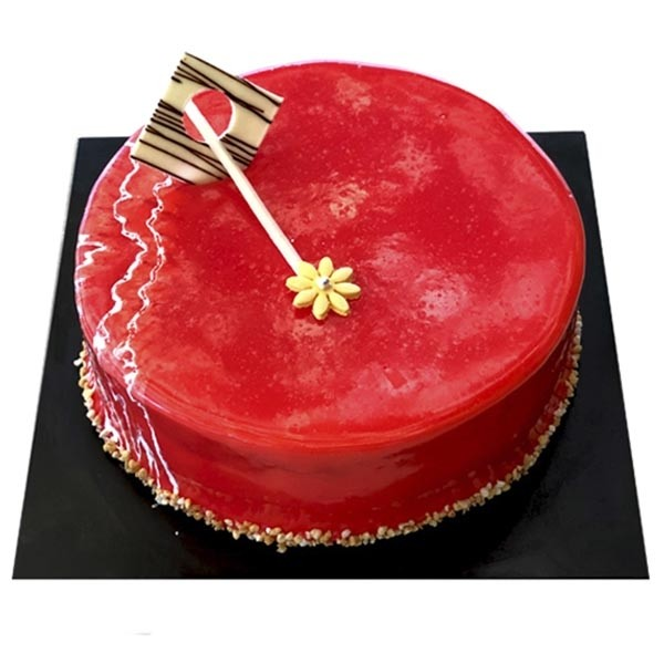 KCC Strawberry Marshmallow Cake 1 Kg - Kandy City Center - in Sri Lanka