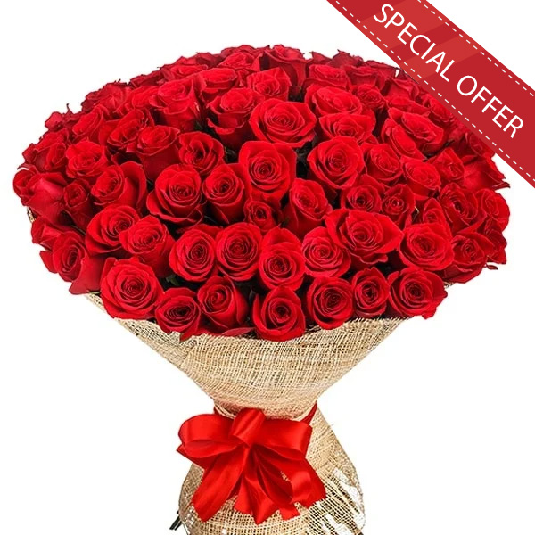 SUPREME LOVE - 100 RED ROSES - Love & Romance - in Sri Lanka