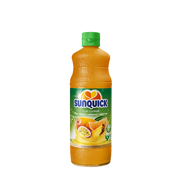 SUNQUICK FRUIT COCKTAIL 330ML - Beverages - in Sri Lanka