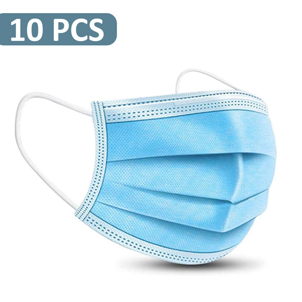 DISPOSABLE SURGICAL FACE MASK 10 PCS PACK - Personal Care - in Sri Lanka