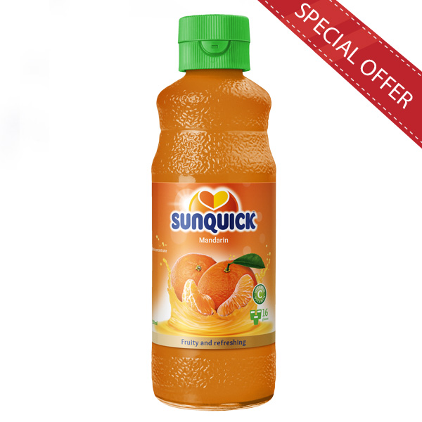 SUNQUICK MANDARIN 330ML - Beverages - in Sri Lanka