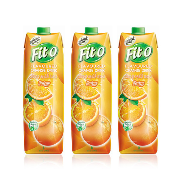 FITO ORANGE FLAVOURED FRUIT DRINK - 3 IN 1 PACK (1L EACH) - Beverages - in Sri Lanka