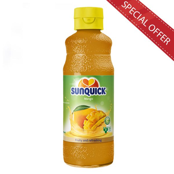 SUNQUICK MANGO 330ML - Beverages - in Sri Lanka