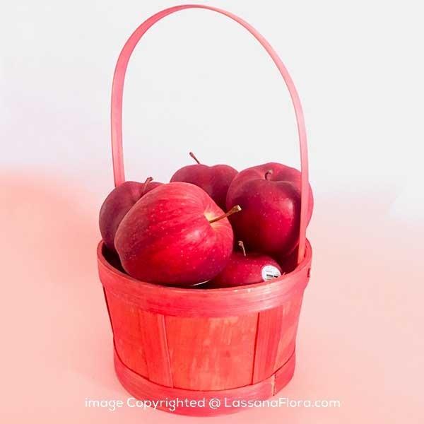 RED APPLE FRUIT BASKET - Fruit Baskets - in Sri Lanka