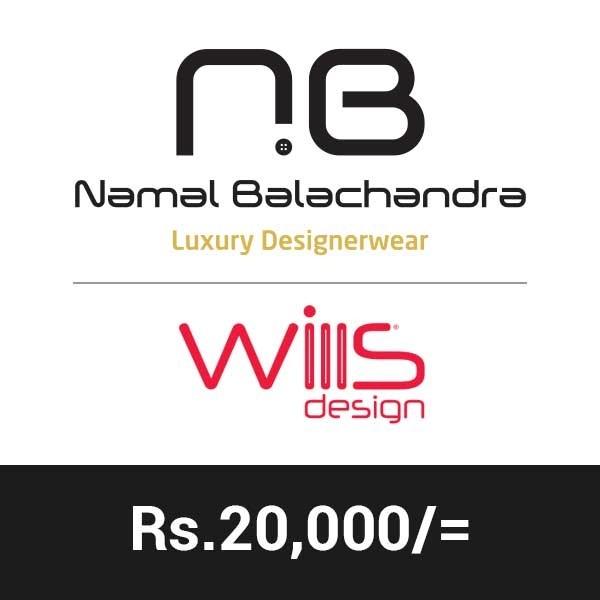 Namal Balachandra Gift Rs.20000 - Clothing & Fashion - in Sri Lanka
