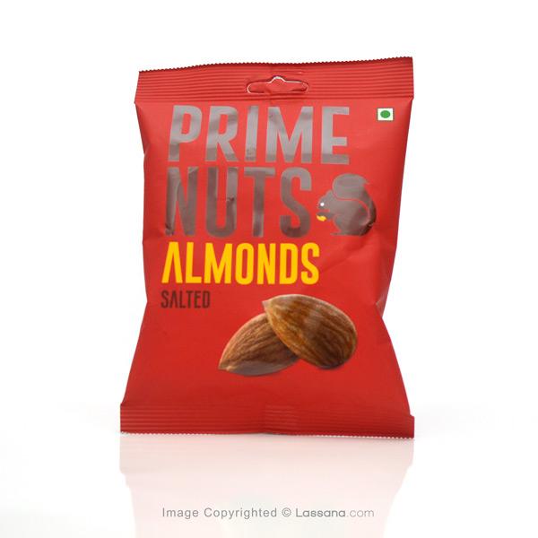 PRIME NUTS SALTED ALMONDS - 100G - Snacks & Confectionery - in Sri Lanka