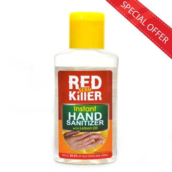 RED GERM KILLER HAND SANITIZER 50ML - Personal Care - in Sri Lanka